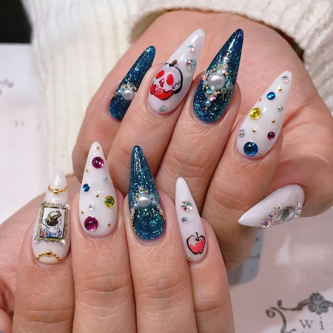 17 must see ideas for acrylic nail designs 2019 2 - 17 Must See Ideas forAcrylic Nail Designs 2019