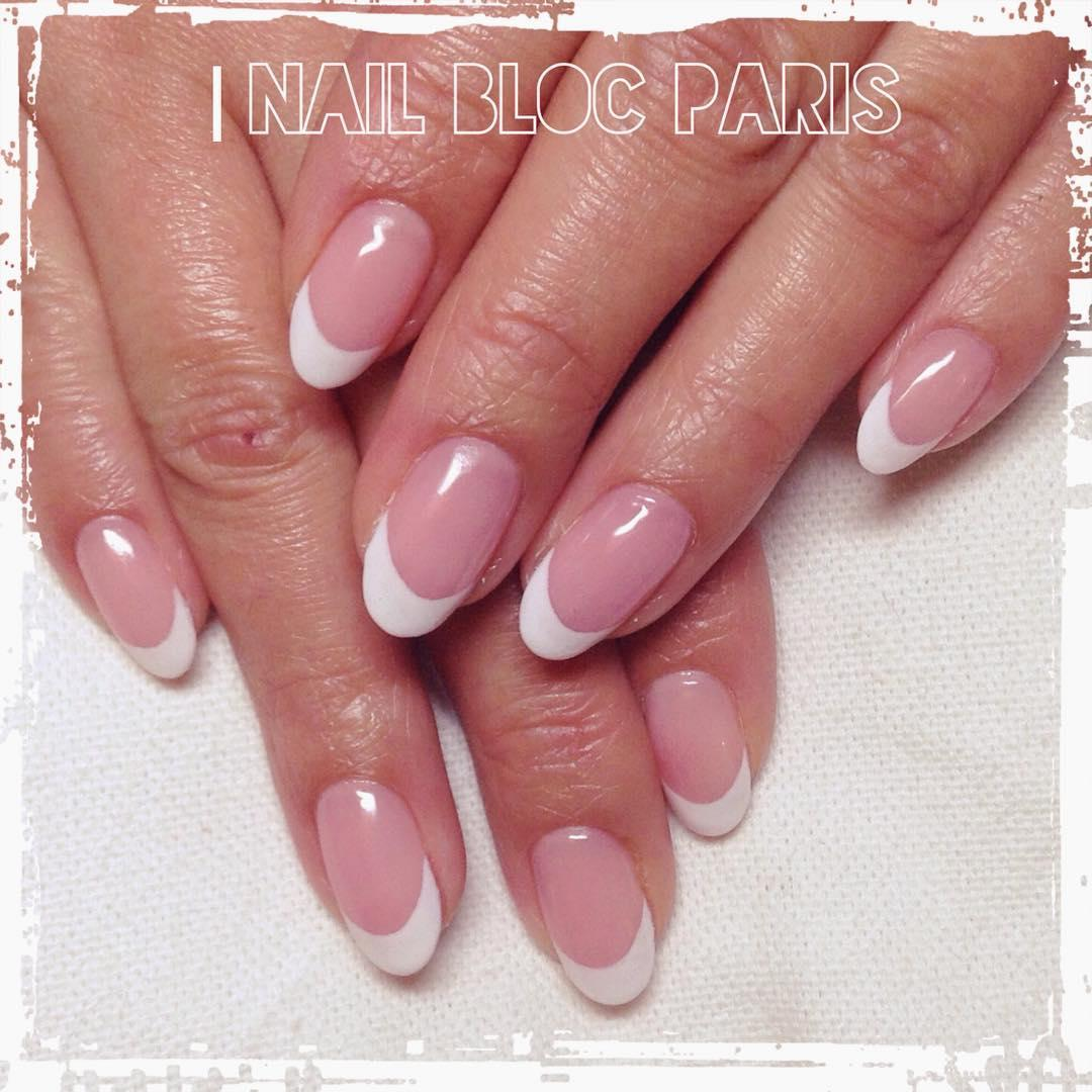 22 french manicure ideas and designs 2019 10 - 22 French Manicure Ideas and Designs 2019
