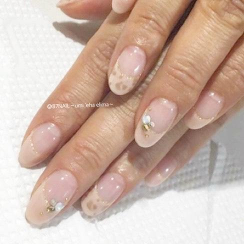 22 french manicure ideas and designs 2019 15 - 22 French Manicure Ideas and Designs 2019