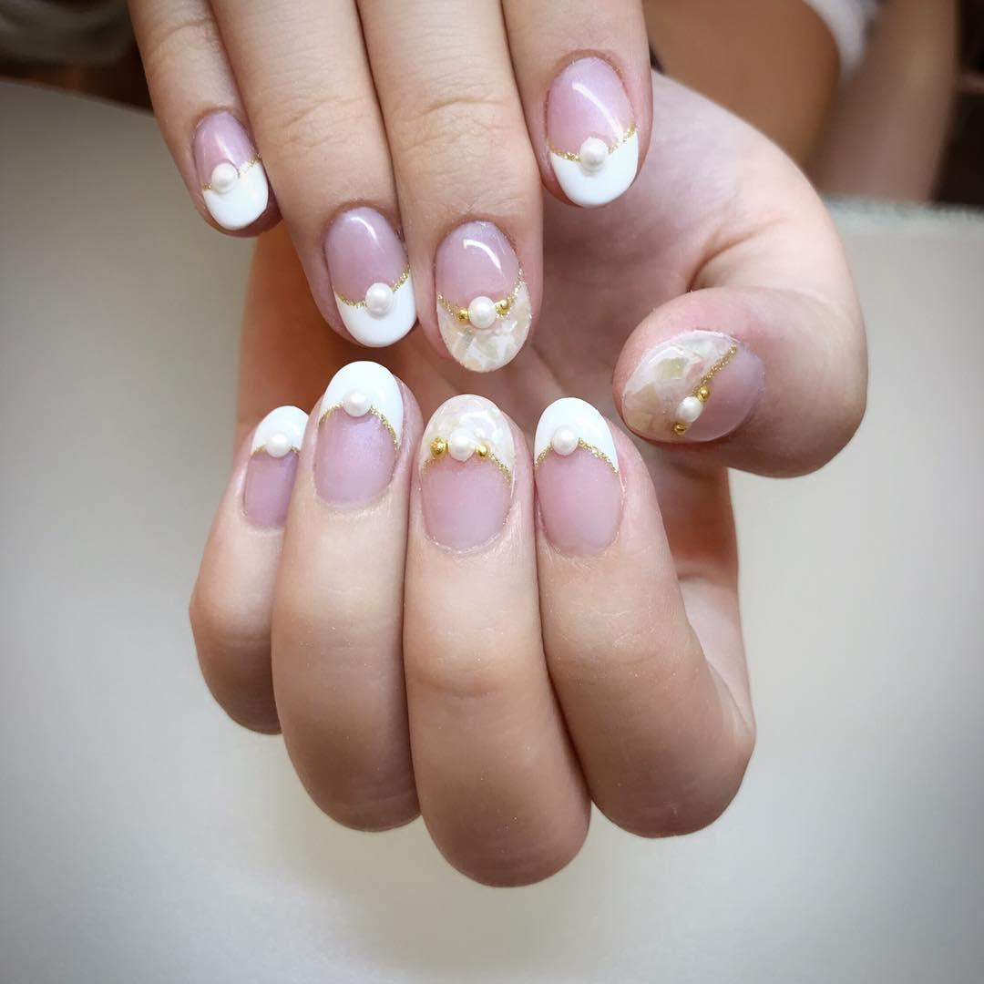 22 french manicure ideas and designs 2019 17 - 22 French Manicure Ideas and Designs 2019