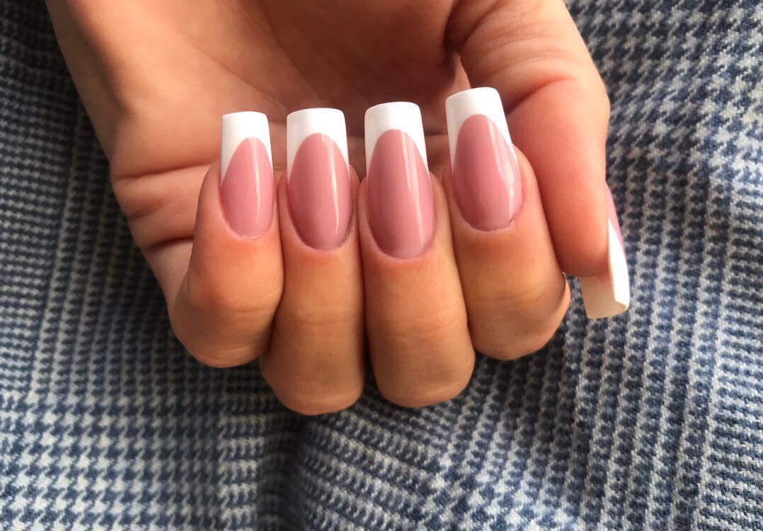 22 french manicure ideas and designs 2019 2 - 22 French Manicure Ideas and Designs 2019