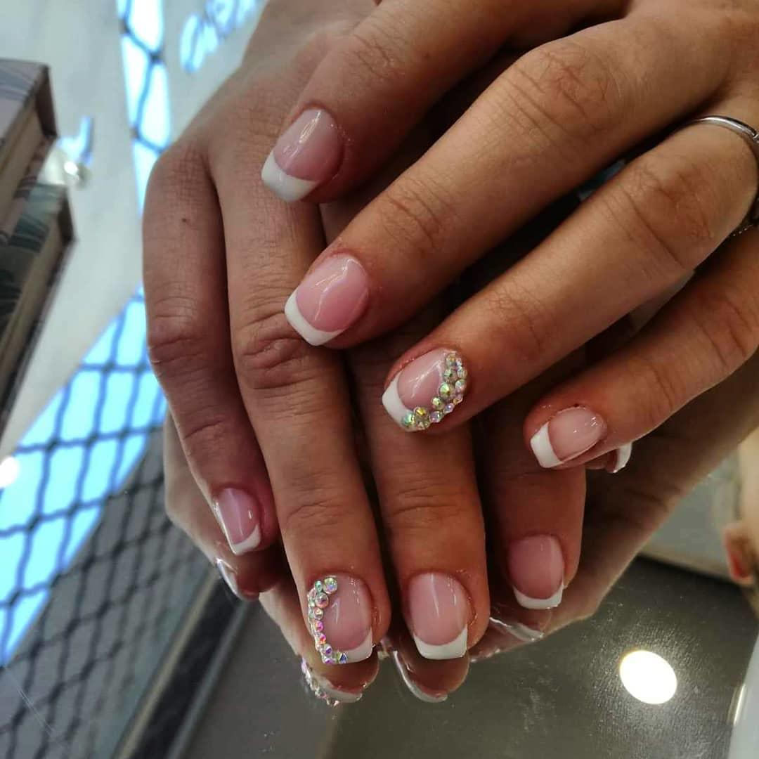 22 french manicure ideas and designs 2019 20 - 22 French Manicure Ideas and Designs 2019