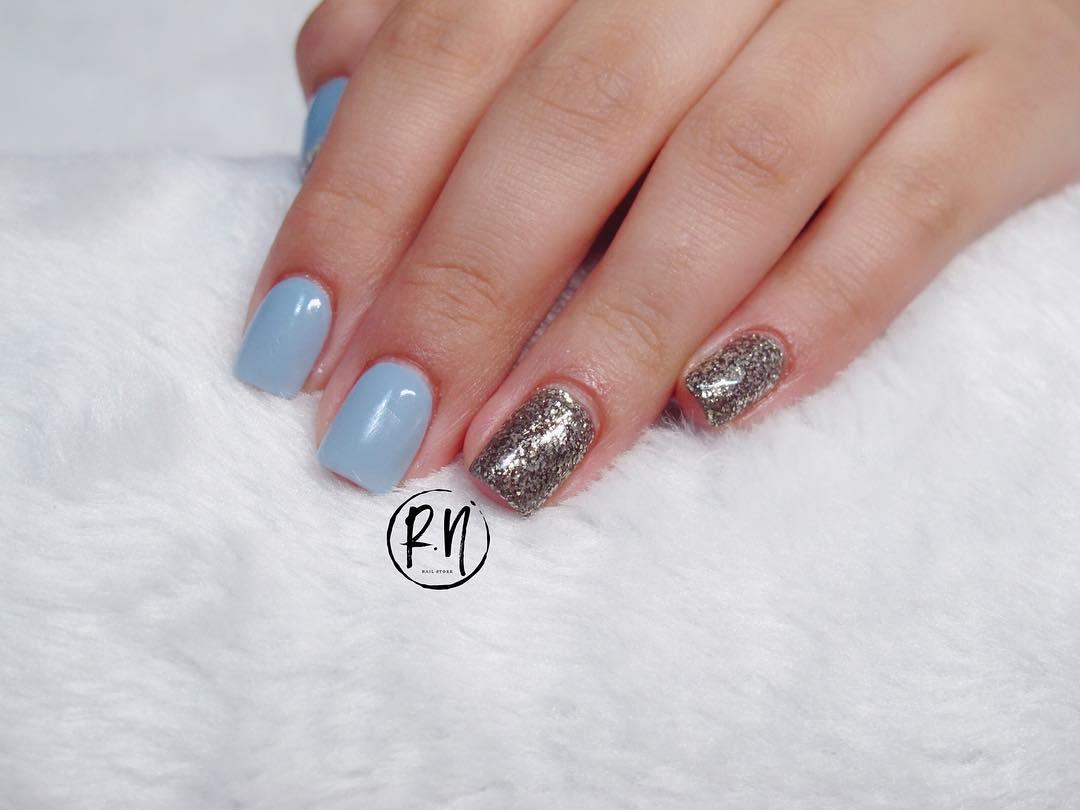 22 french manicure ideas and designs 2019 8 - 22 French Manicure Ideas and Designs 2019