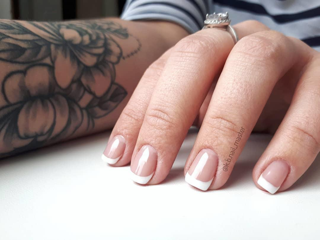 22 french manicure ideas and designs 2019 - 22 French Manicure Ideas and Designs 2019