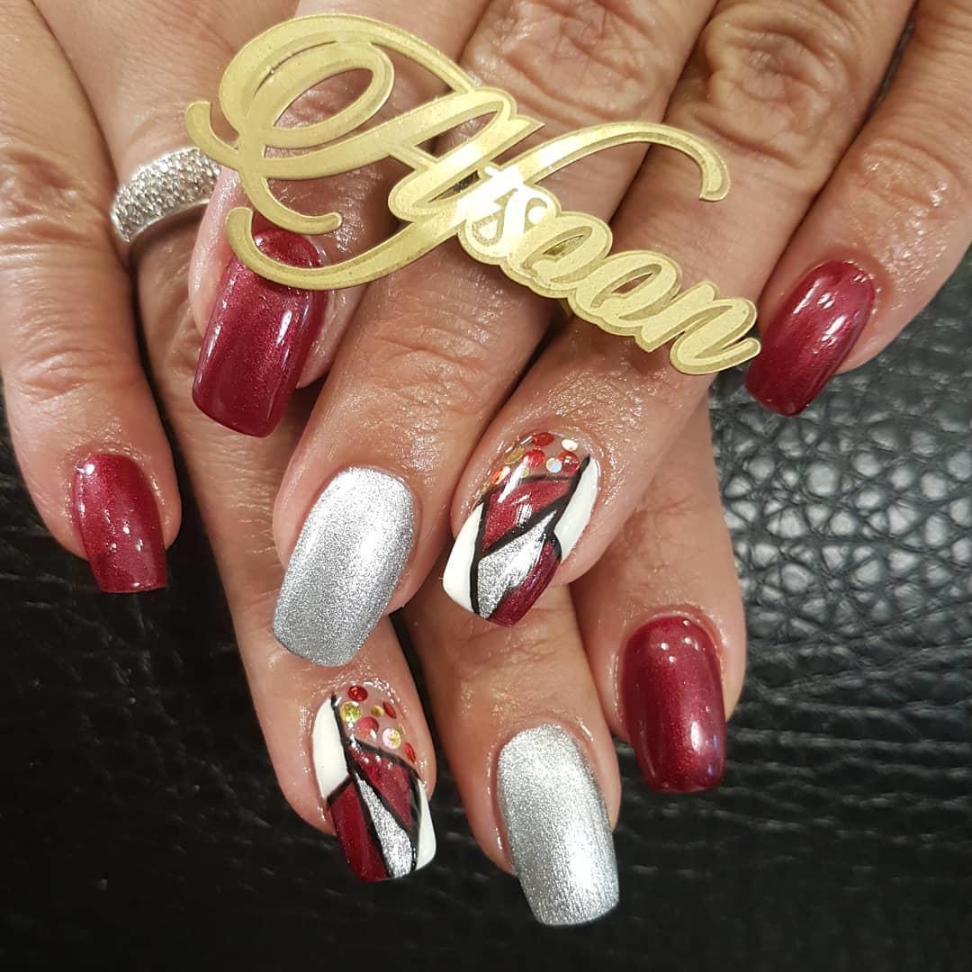 amazing 3d nail art ideas 2019 12 - 17 Amazing 3D Nail Art Ideas 2019