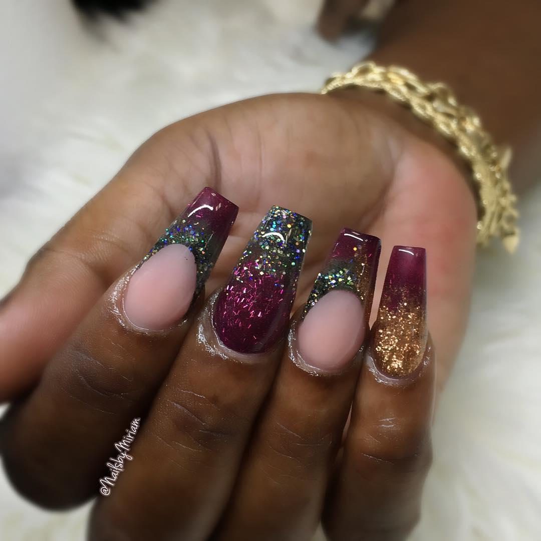 amazing 3d nail art ideas 2019 2 - 17 Amazing 3D Nail Art Ideas 2019