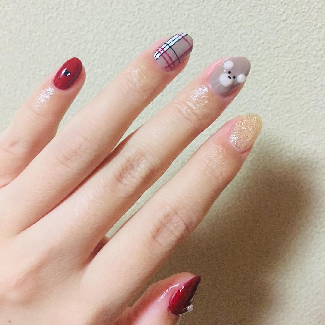 amazing 3d nail art ideas 2019 5 - 17 Amazing 3D Nail Art Ideas 2019
