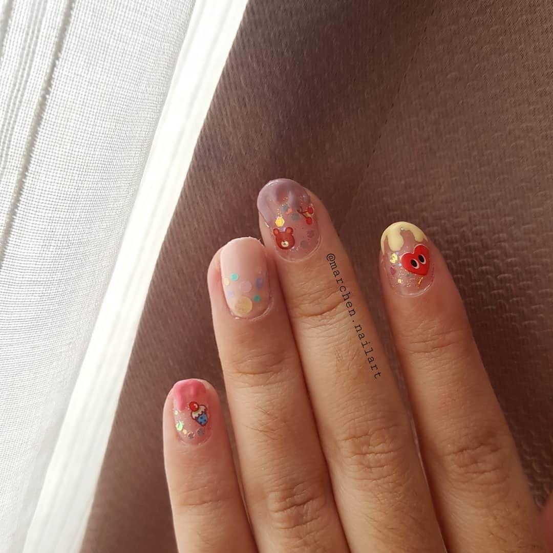 amazing 3d nail art ideas 2019 6 - 17 Amazing 3D Nail Art Ideas 2019