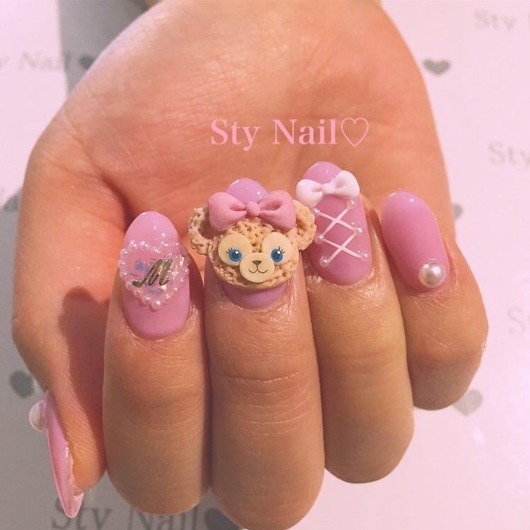amazing 3d nail art ideas 2019 8 - 17 Amazing 3D Nail Art Ideas 2019