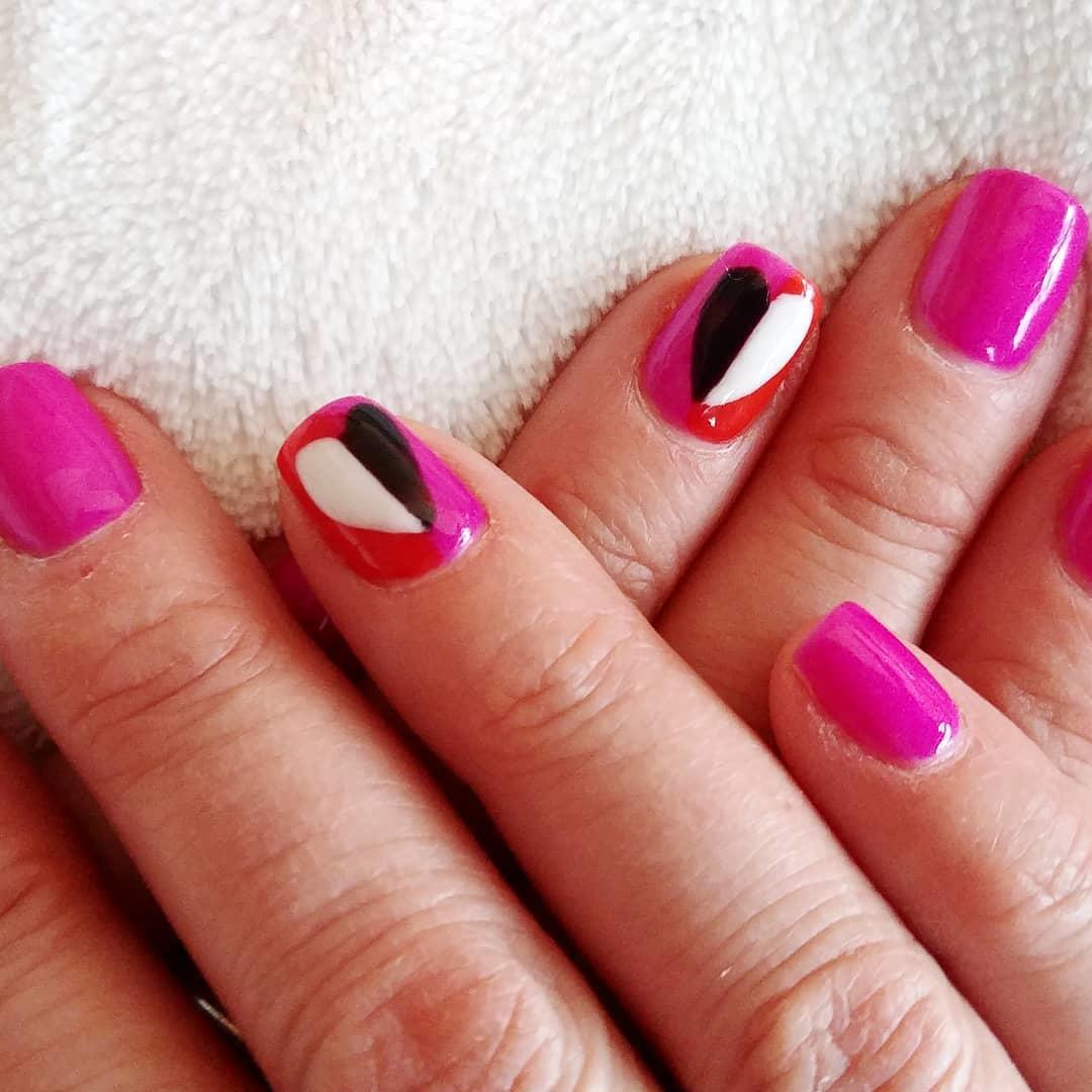 amazing valentines nail art designs 2019 10 - 12 Amazing Valentine's Nail Art Designs 2019