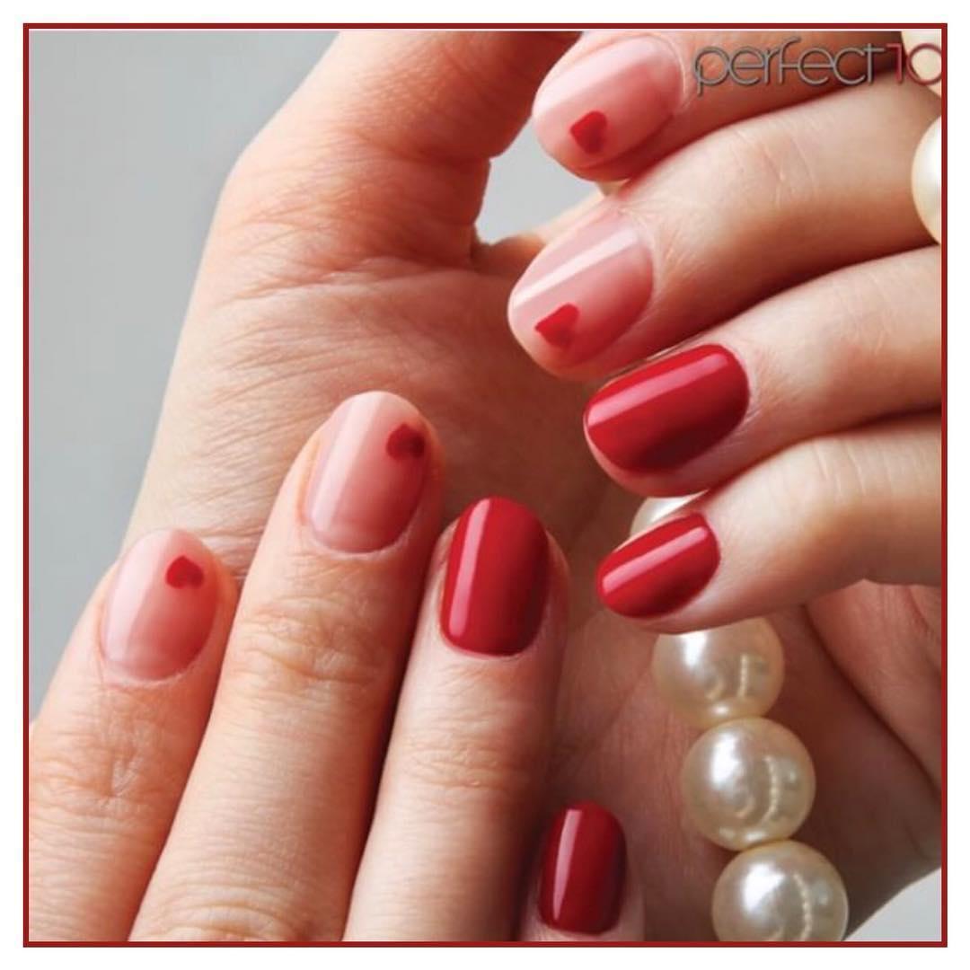 amazing valentines nail art designs 2019 13 - 12 Amazing Valentine's Nail Art Designs 2019