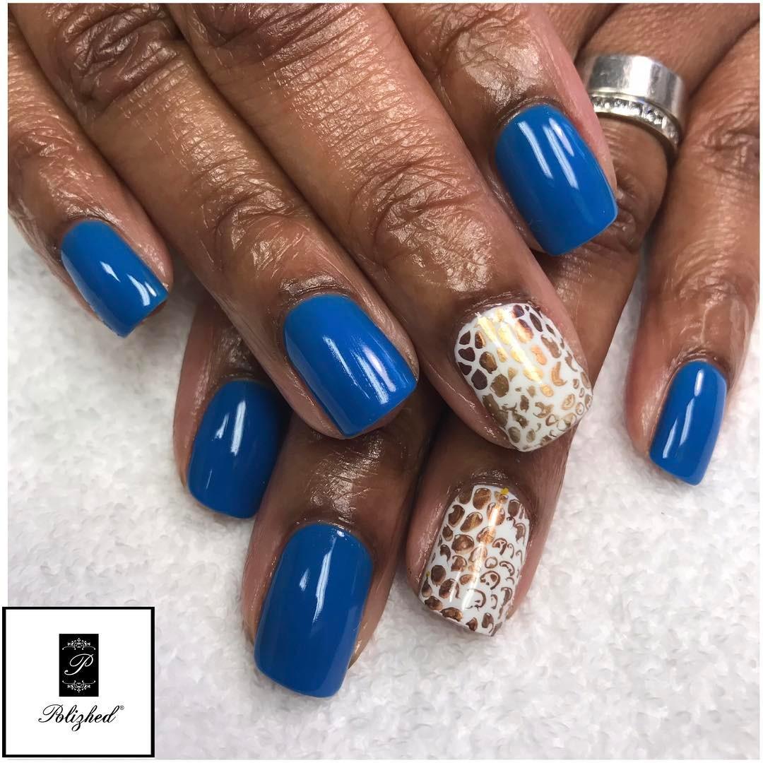 cheetah nail art designs and ideas for 2019 10 - 25 Cheetah Nail Art Designs and Ideas for 2019
