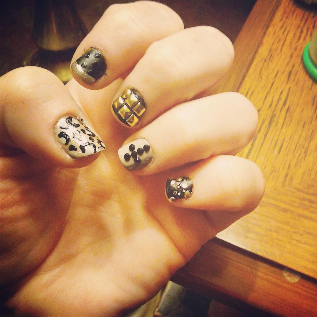 cheetah nail art designs and ideas for 2019 11 - 25 Cheetah Nail Art Designs and Ideas for 2019