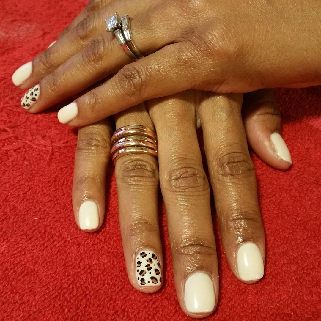 cheetah nail art designs and ideas for 2019 12 - 25 Cheetah Nail Art Designs and Ideas for 2019