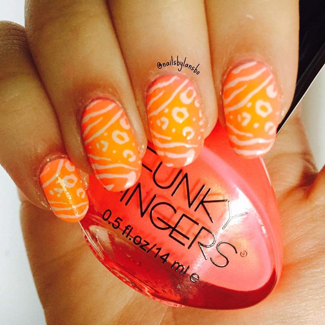 cheetah nail art designs and ideas for 2019 17 - 25 Cheetah Nail Art Designs and Ideas for 2019