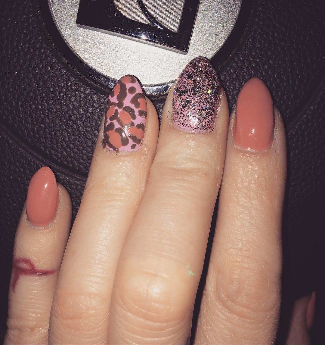 cheetah nail art designs and ideas for 2019 18 - 25 Cheetah Nail Art Designs and Ideas for 2019
