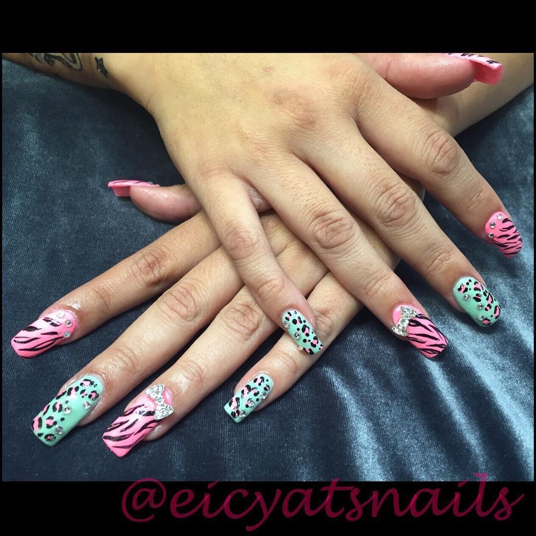 cheetah nail art designs and ideas for 2019 19 - 25 Cheetah Nail Art Designs and Ideas for 2019