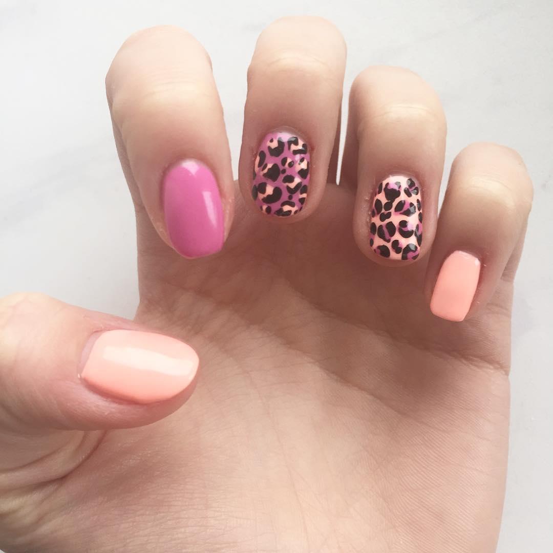 cheetah nail art designs and ideas for 2019 20 - 25 Cheetah Nail Art Designs and Ideas for 2019