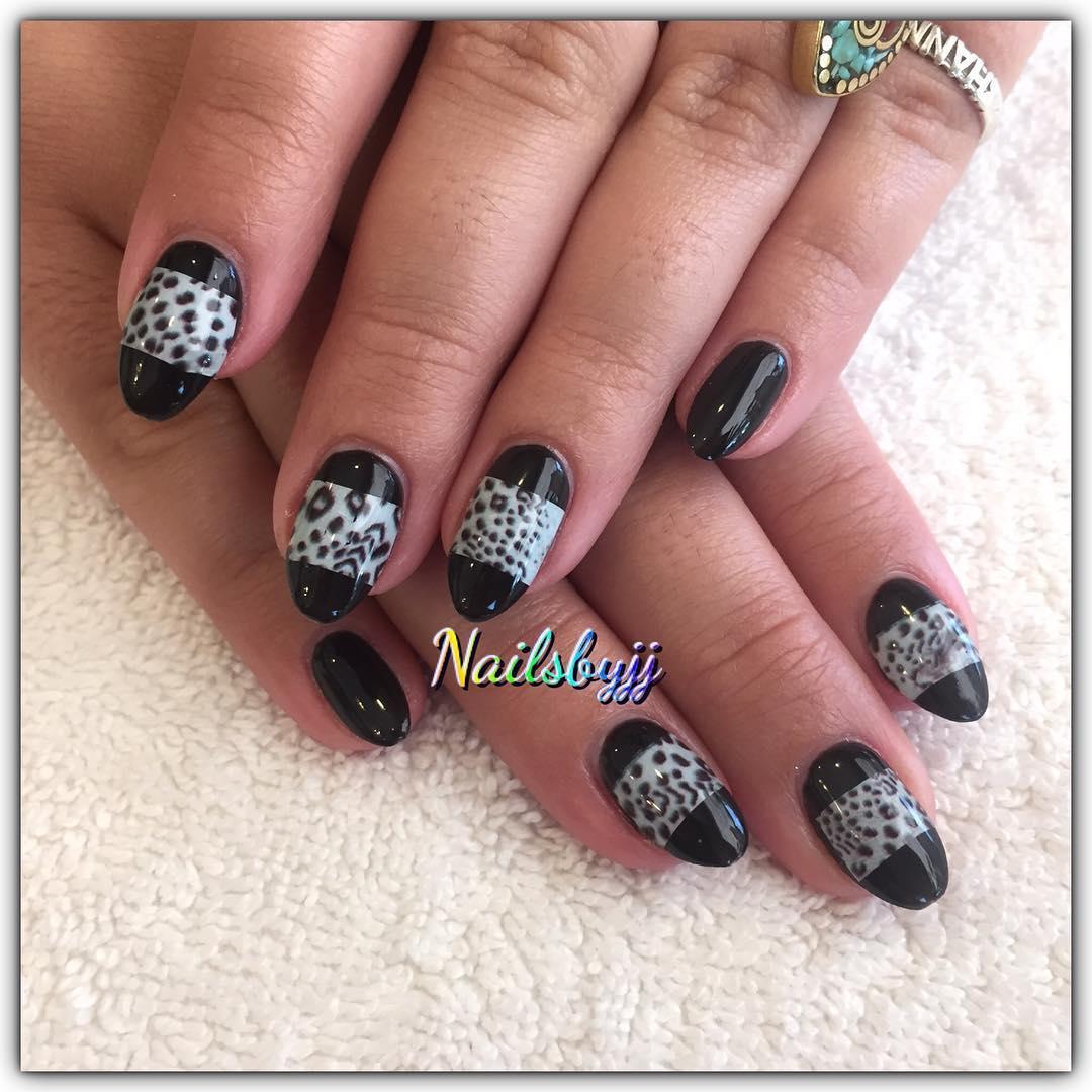 cheetah nail art designs and ideas for 2019 21 - 25 Cheetah Nail Art Designs and Ideas for 2019