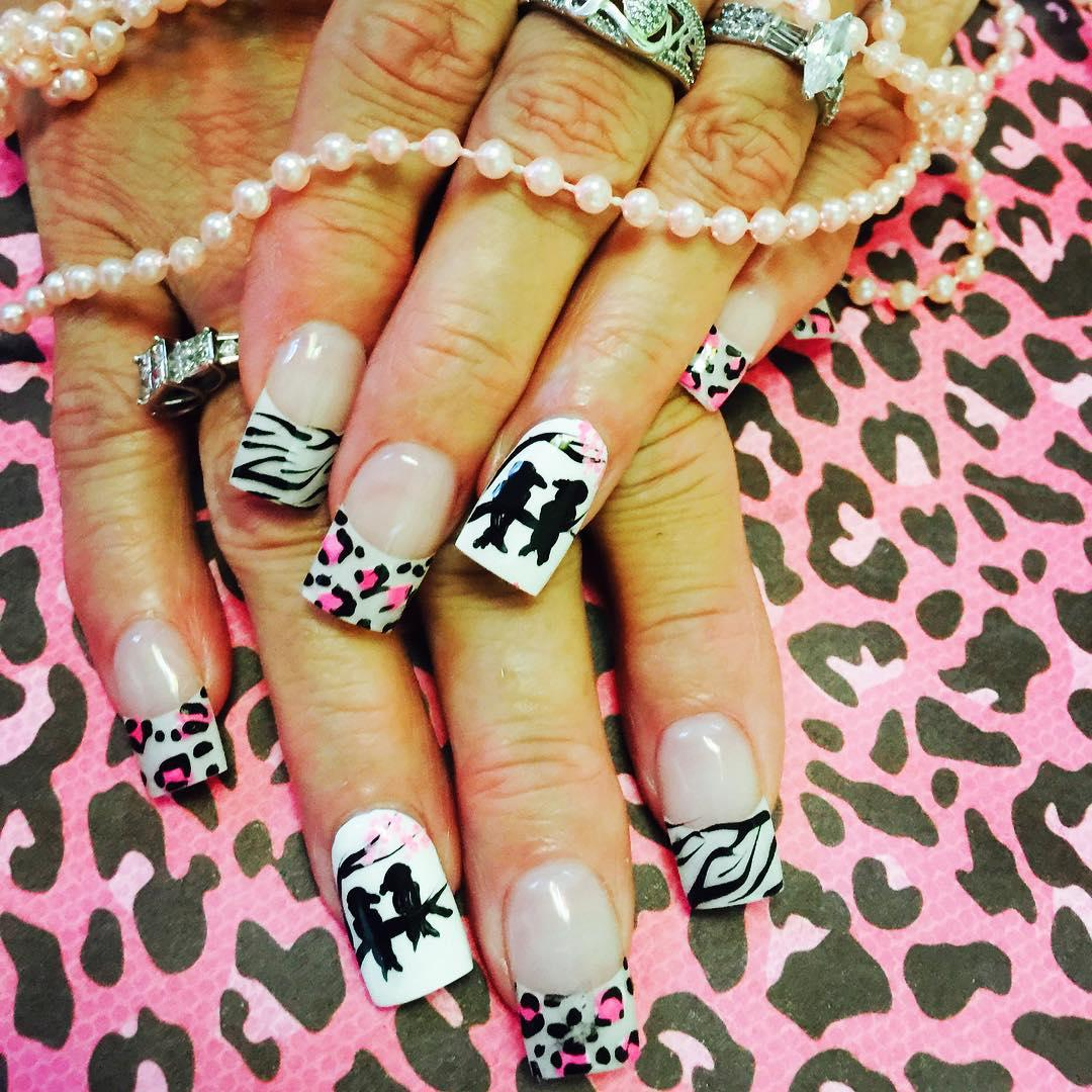cheetah nail art designs and ideas for 2019 22 - 25 Cheetah Nail Art Designs and Ideas for 2019