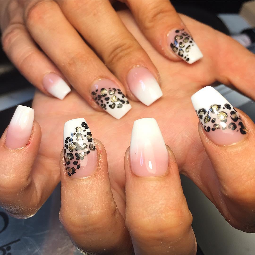 cheetah nail art designs and ideas for 2019 24 - 25 Cheetah Nail Art Designs and Ideas for 2019