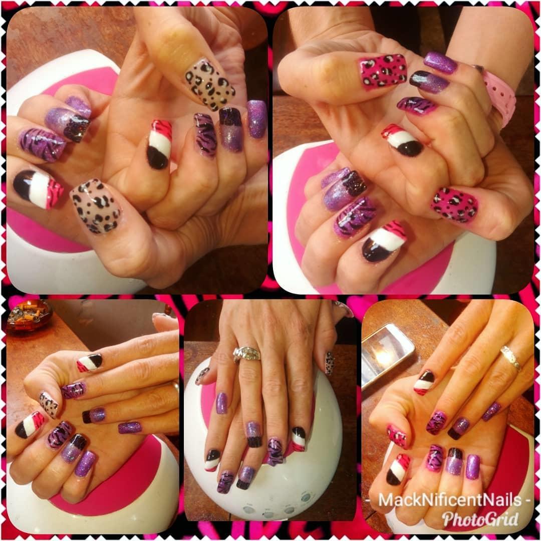 cheetah nail art designs and ideas for 2019 4 - 25 Cheetah Nail Art Designs and Ideas for 2019