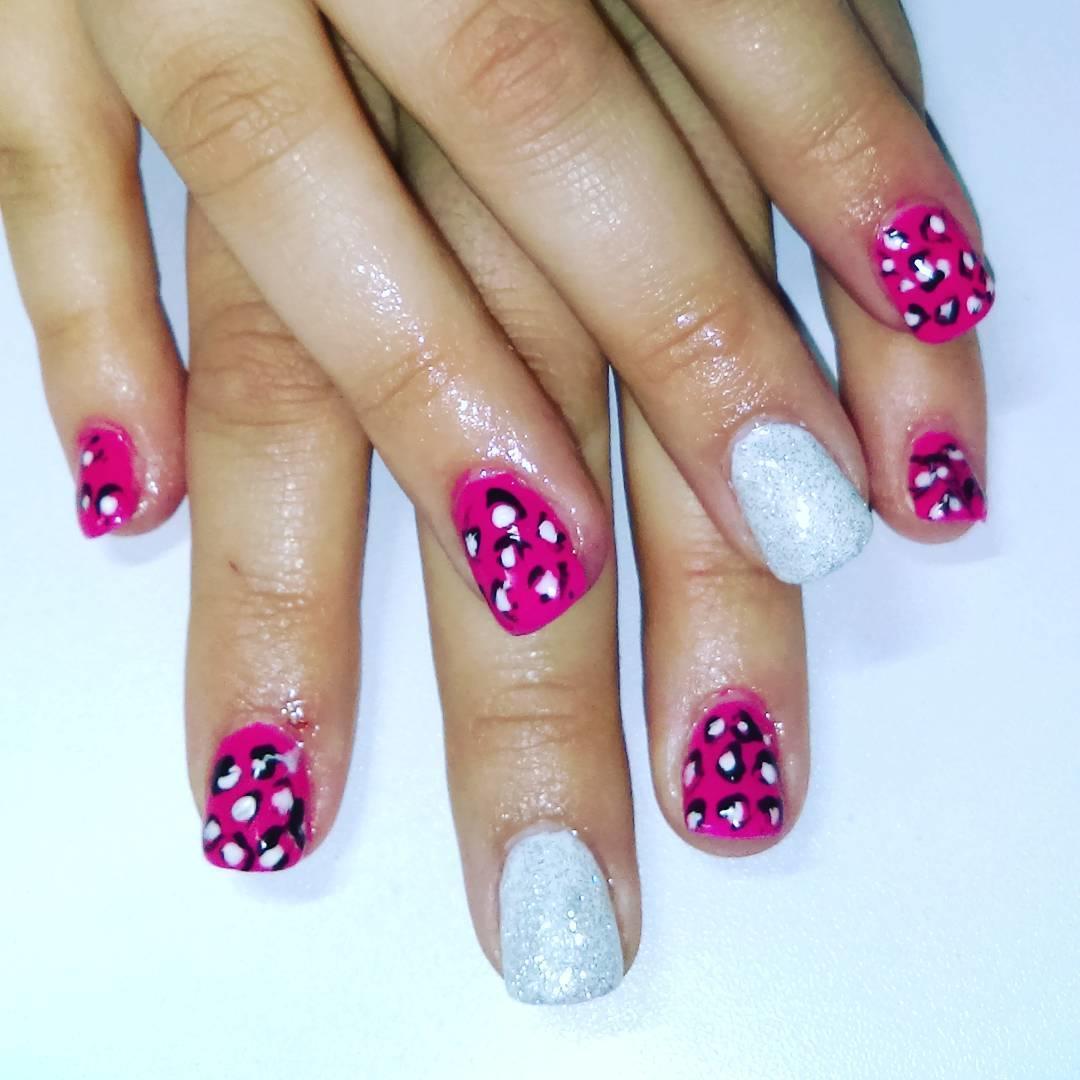 cheetah nail art designs and ideas for 2019 9 - 25 Cheetah Nail Art Designs and Ideas for 2019