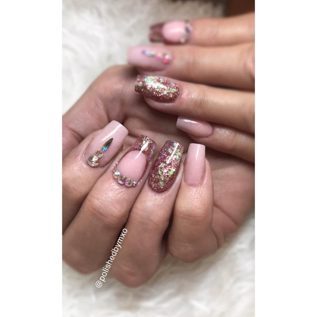cool pink nail designs 2019 1 - 21 Cool Pink Nail Designs 2019