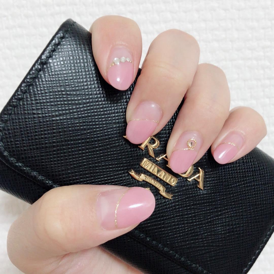 cool pink nail designs 2019 10 - 21 Cool Pink Nail Designs 2019