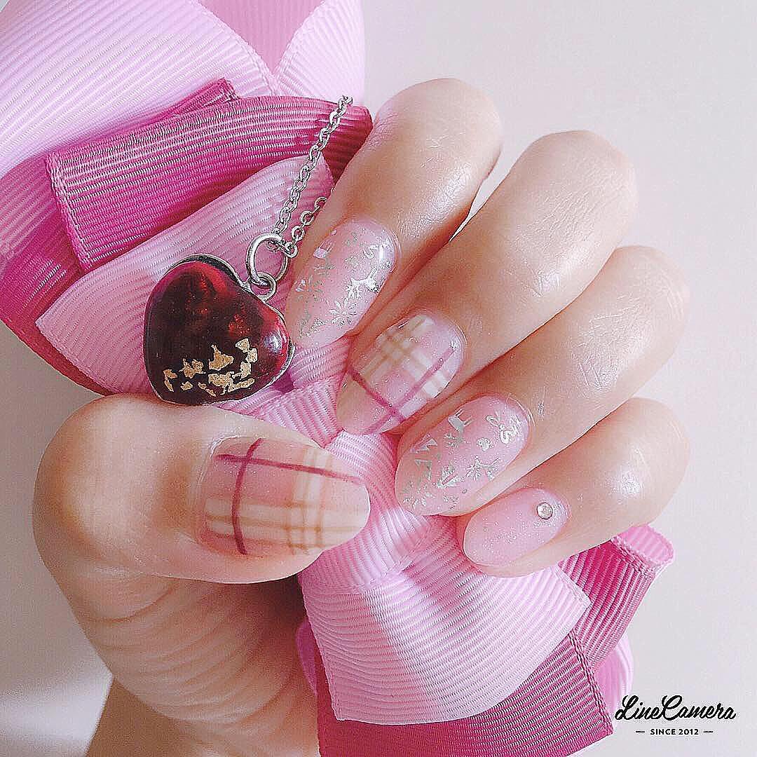 cool pink nail designs 2019 11 - 21 Cool Pink Nail Designs 2019