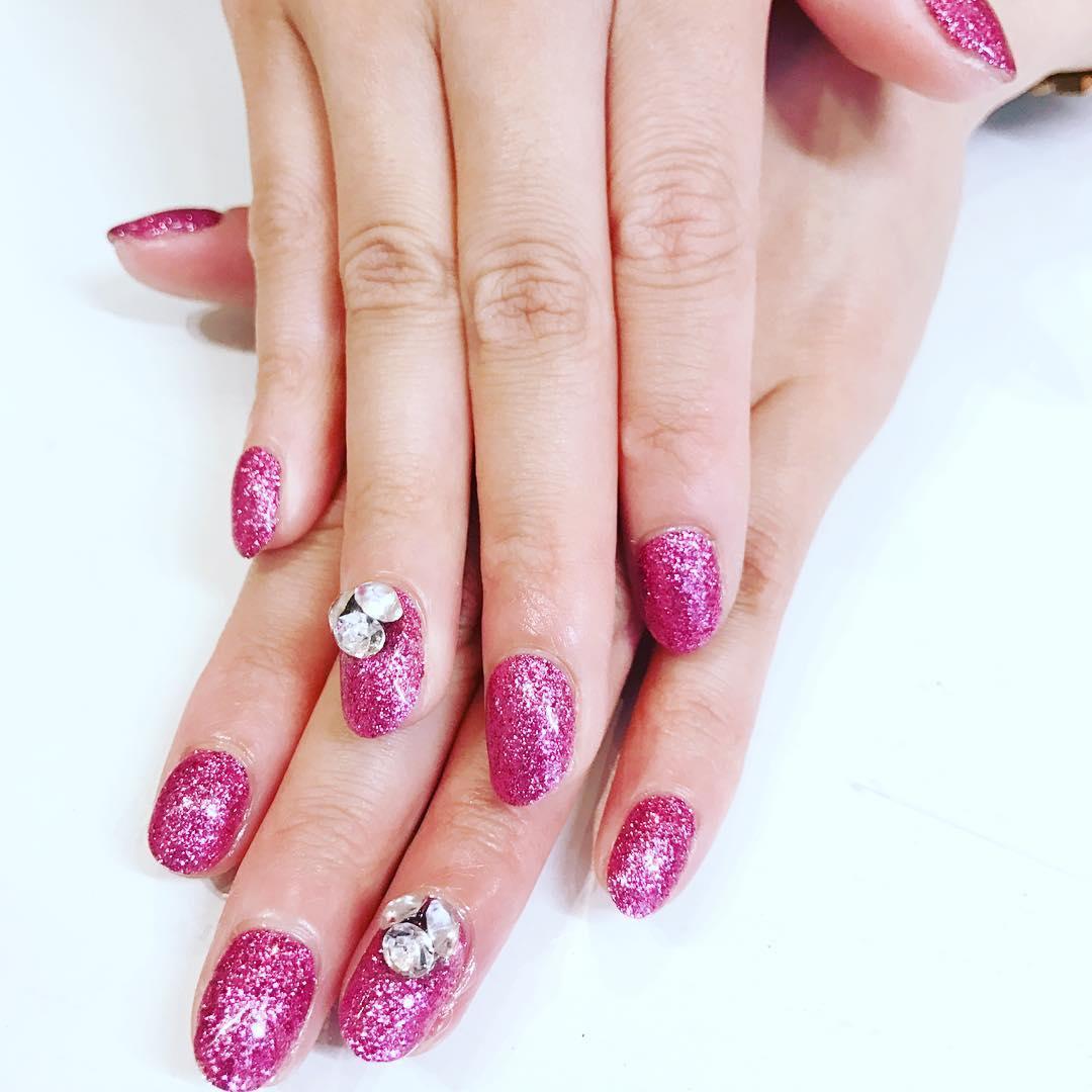 cool pink nail designs 2019 14 - 21 Cool Pink Nail Designs 2019
