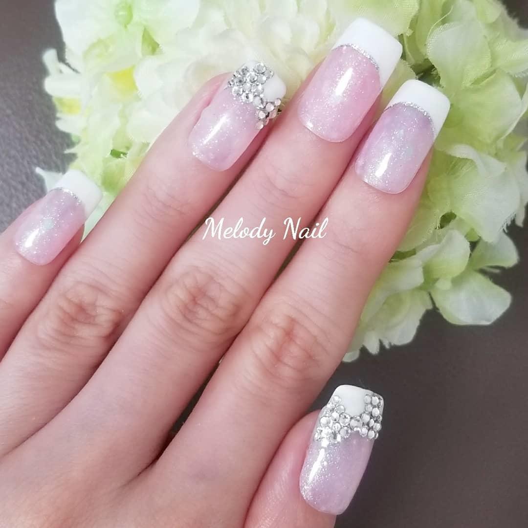 cool pink nail designs 2019 15 - 21 Cool Pink Nail Designs 2019