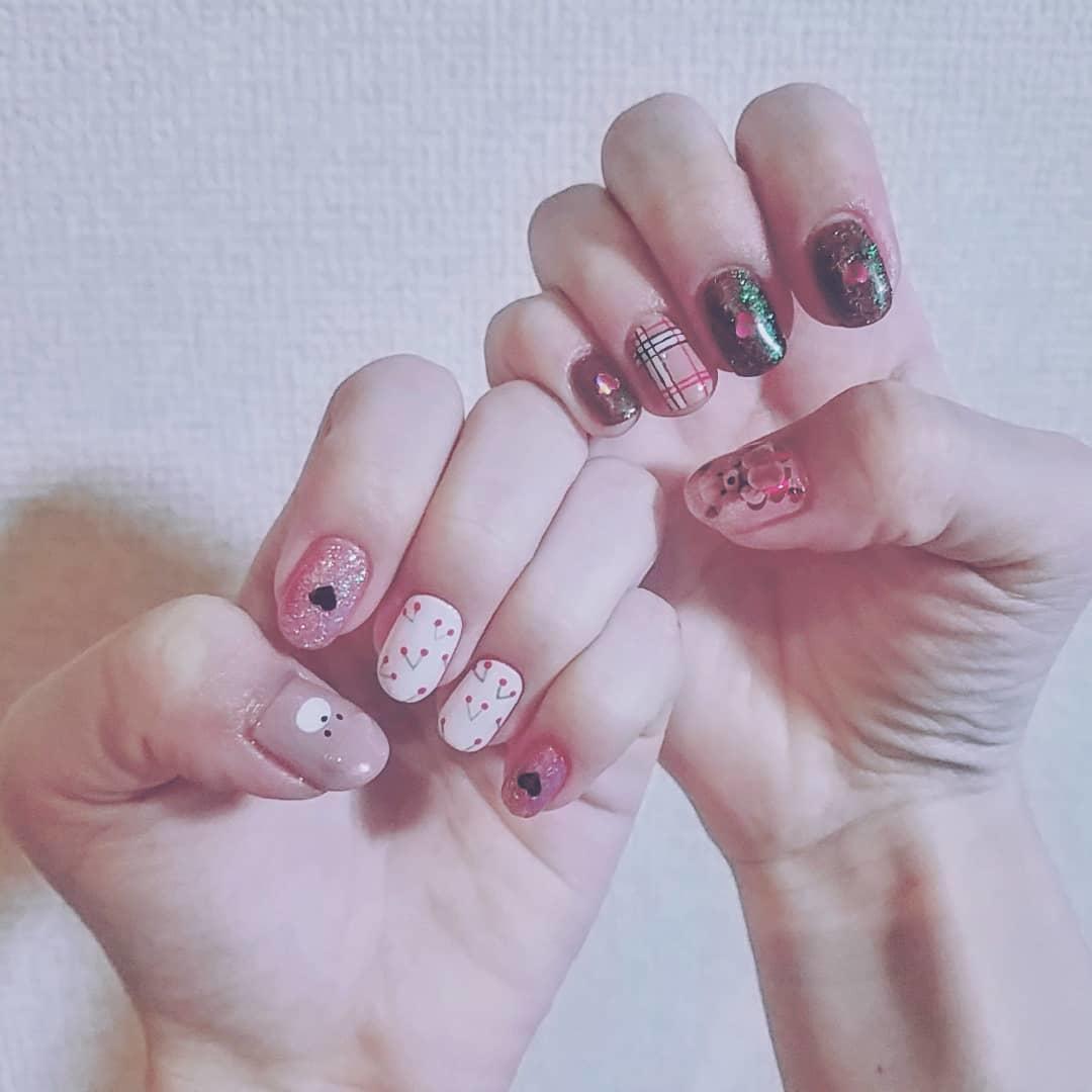 cool pink nail designs 2019 20 - 21 Cool Pink Nail Designs 2019