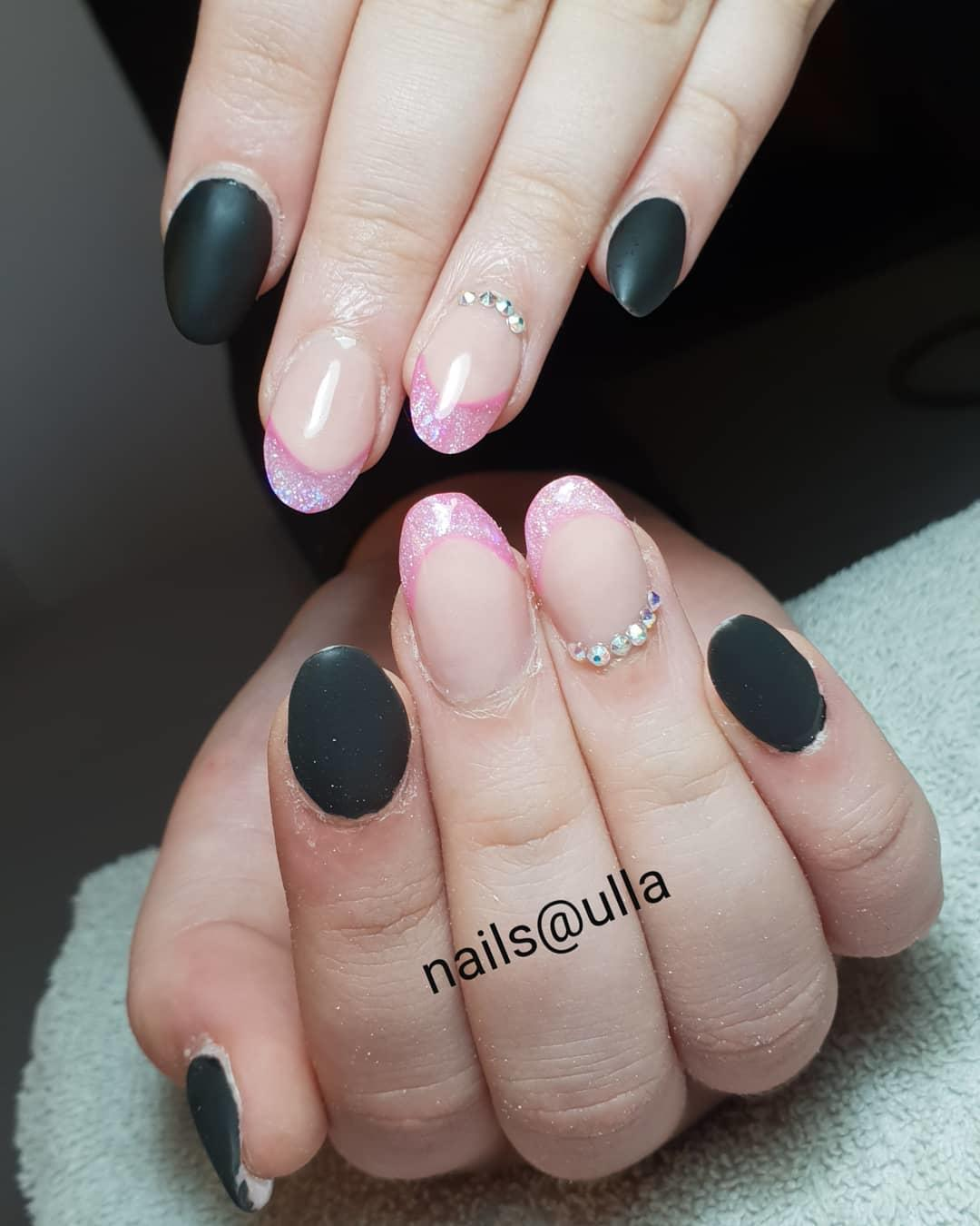 cool pink nail designs 2019 3 - 21 Cool Pink Nail Designs 2019