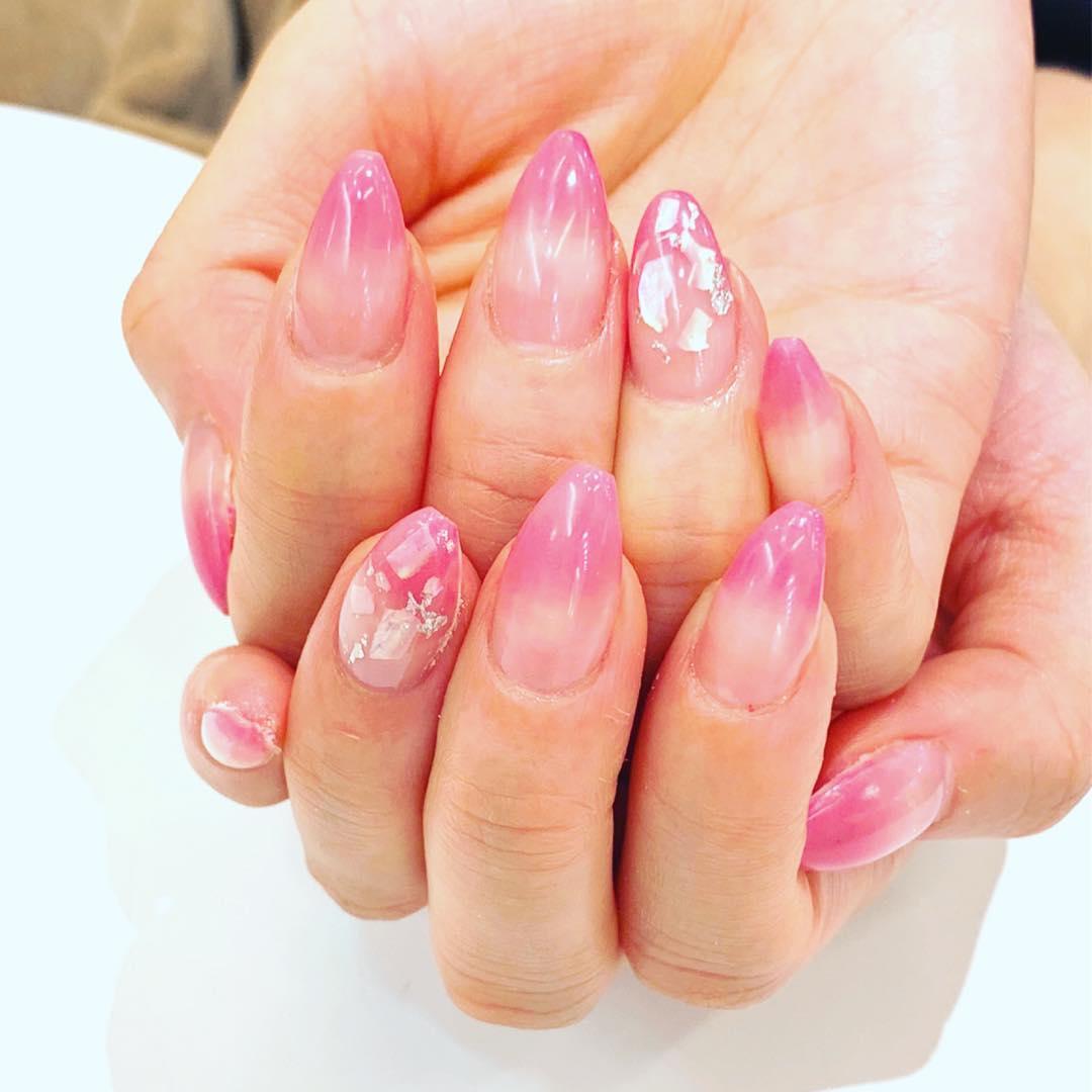 cool pink nail designs 2019 7 - 21 Cool Pink Nail Designs 2019