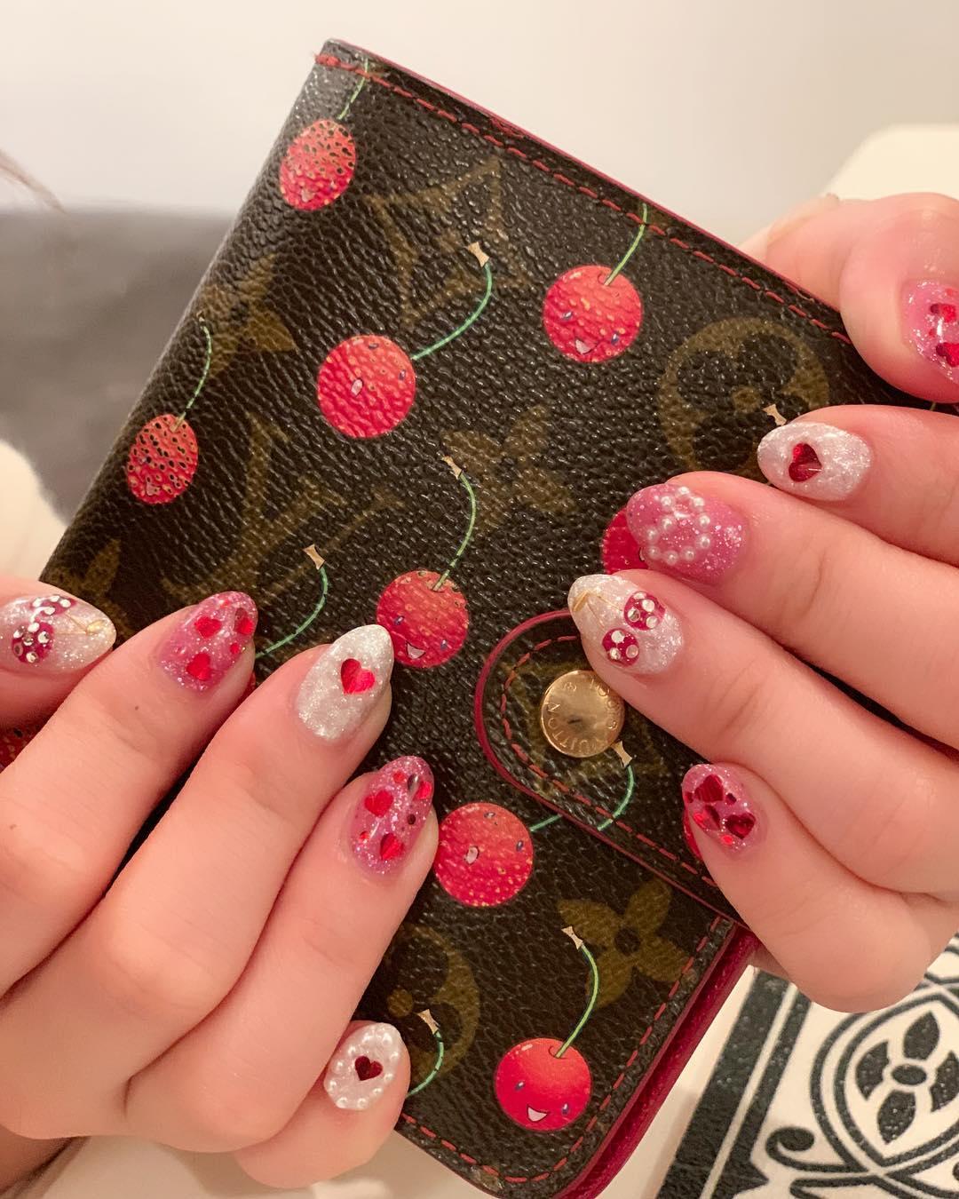 cool pink nail designs 2019 9 - 21 Cool Pink Nail Designs 2019
