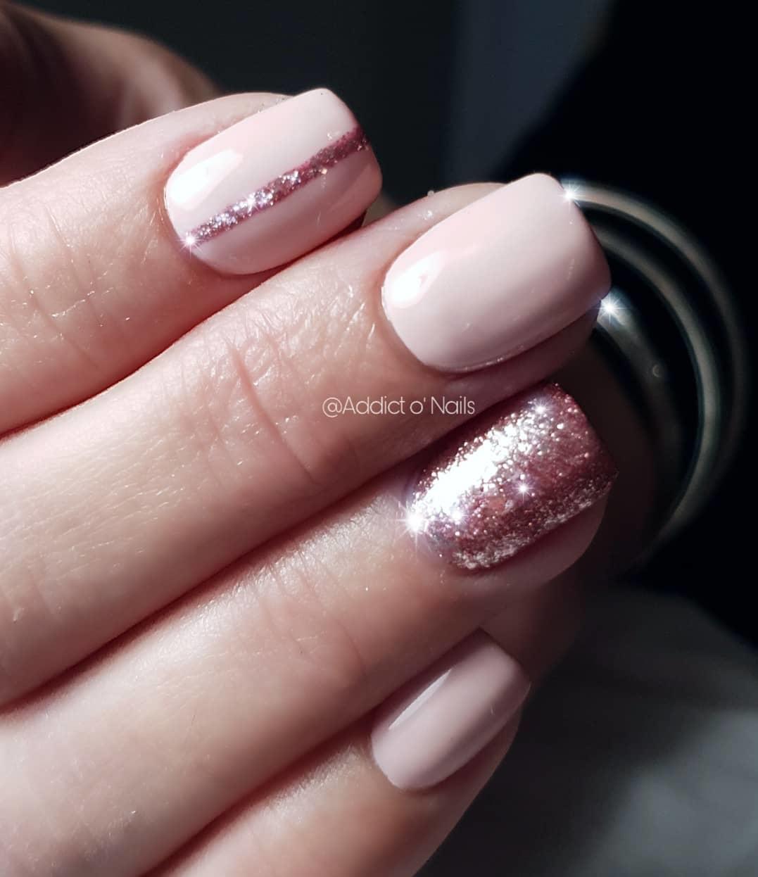 cool pink nail designs 2019 - 21 Cool Pink Nail Designs 2019