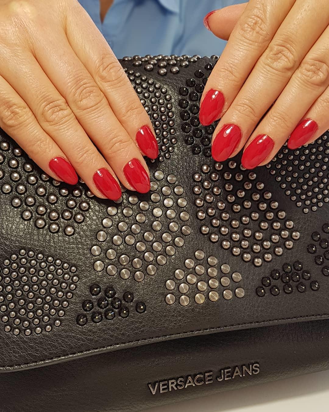creative red nail design ideas 2019 - 20 Creative Red Nail Design Ideas 2019