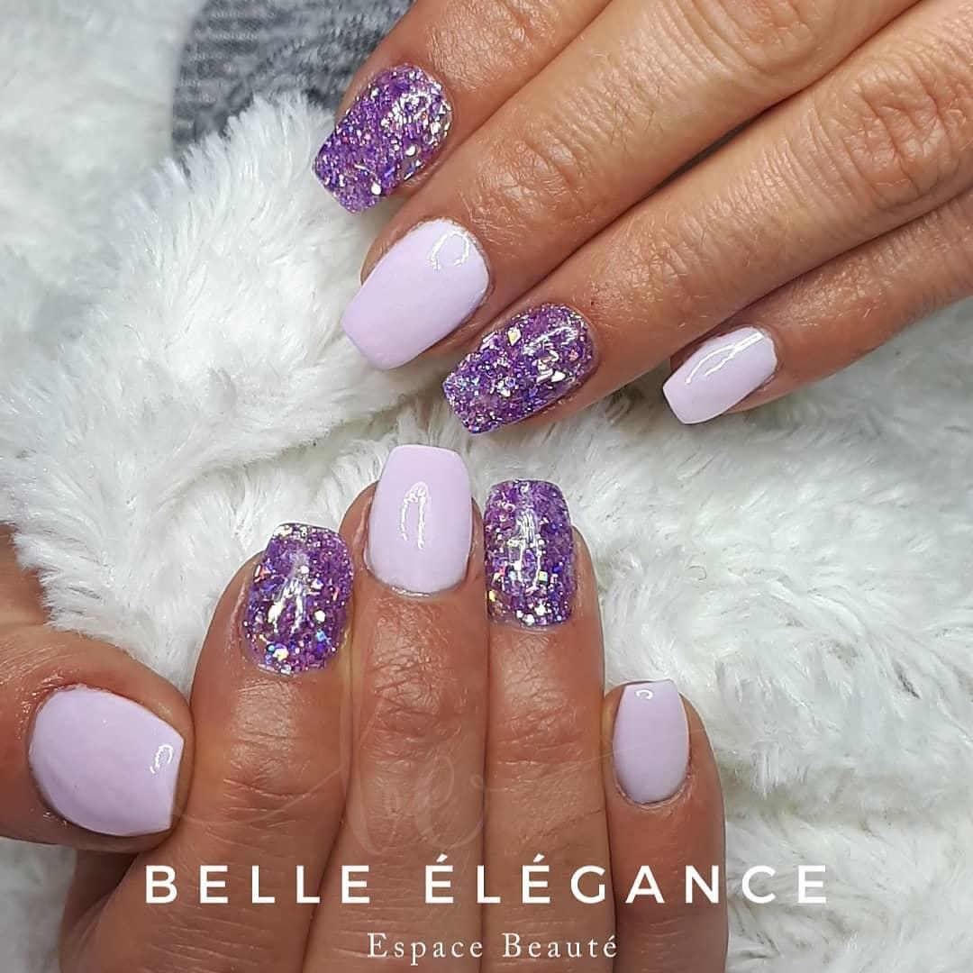 cute purple nail art ideas 2019 11 - 24 Cute Purple Nail Art Ideas 2019