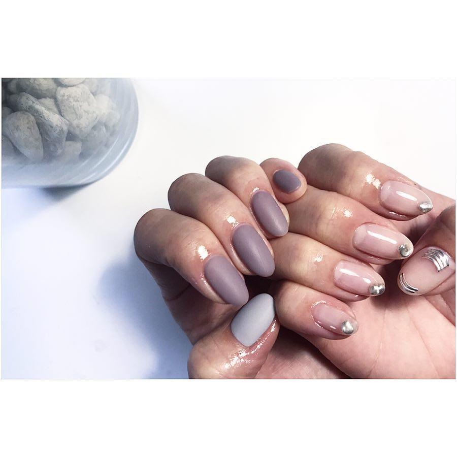 cute purple nail art ideas 2019 24 - 24 Cute Purple Nail Art Ideas 2019