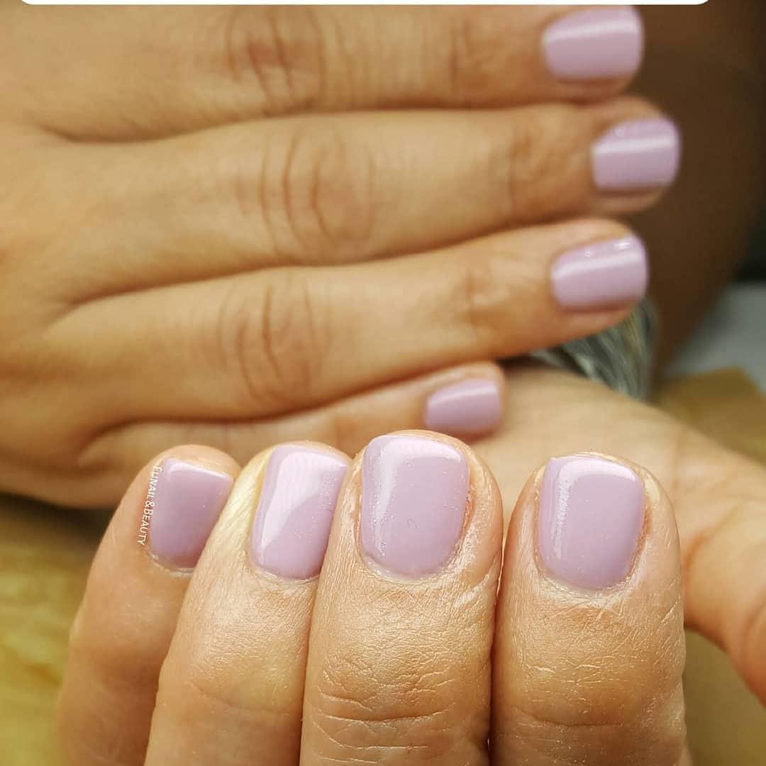 cute purple nail art ideas 2019 - 24 Cute Purple Nail Art Ideas 2019