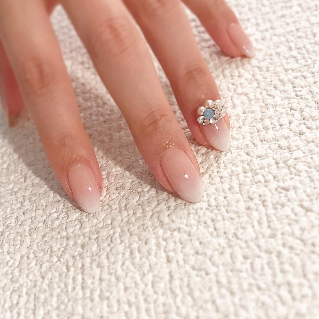 cute wedding nail art design 2019 1 - Cute Wedding Nail Art Design 2019
