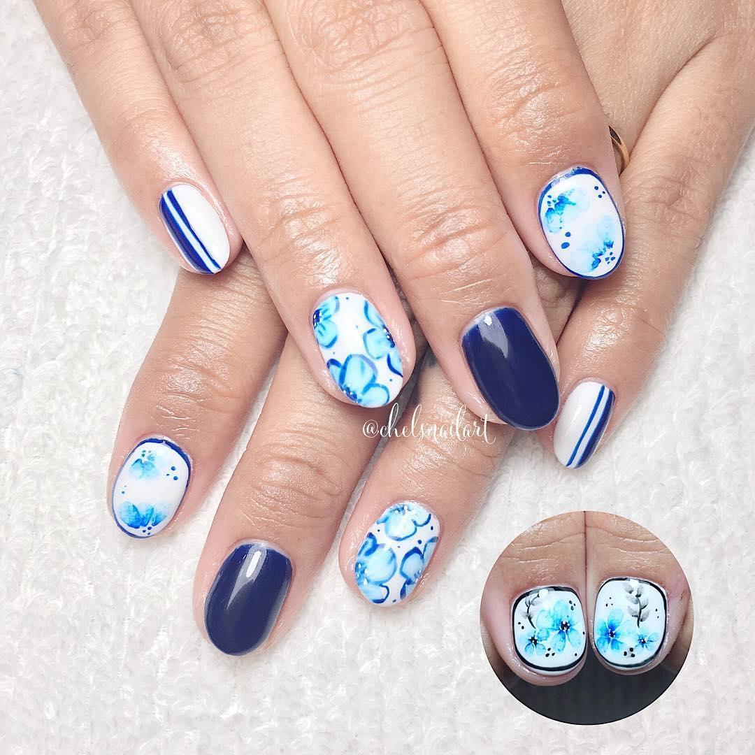 cute wedding nail art design 2019 10 - Cute Wedding Nail Art Design 2019