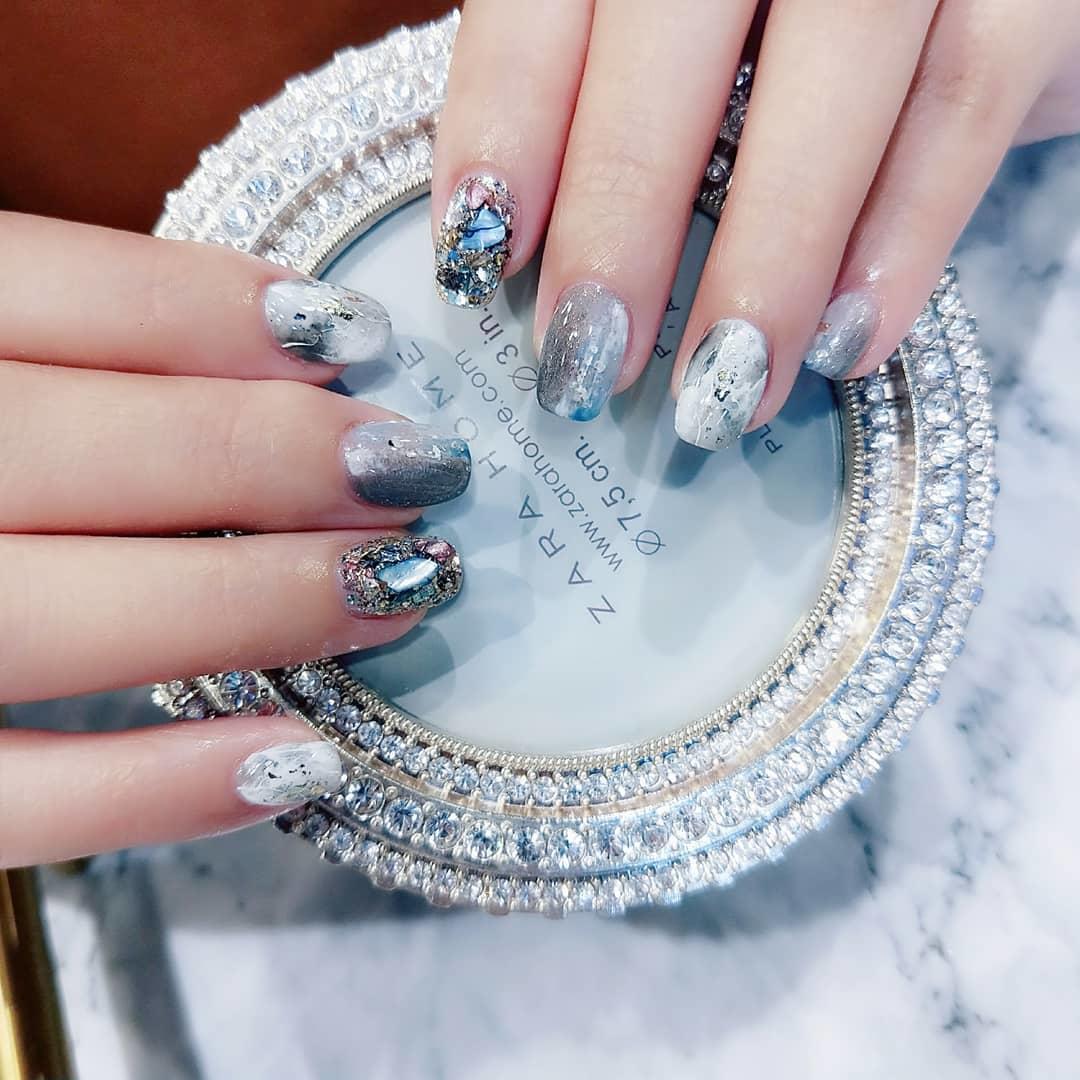 cute wedding nail art design 2019 3 - Cute Wedding Nail Art Design 2019