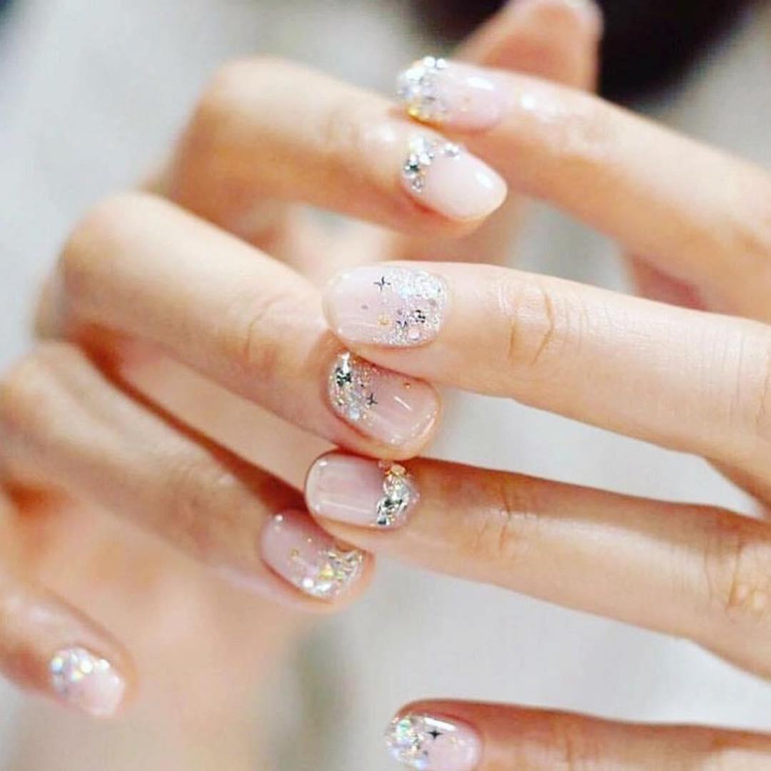 cute wedding nail art design 2019 4 - Cute Wedding Nail Art Design 2019