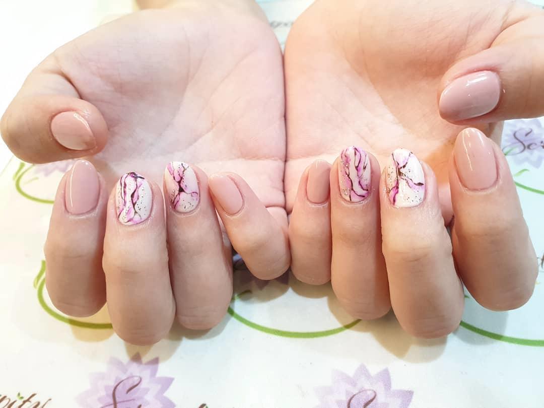 cute wedding nail art design 2019 7 - Cute Wedding Nail Art Design 2019
