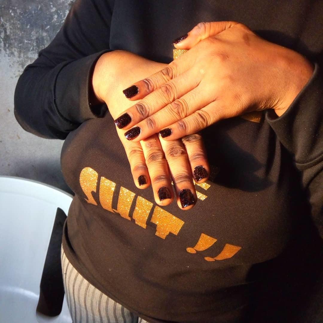 elegant black nail designs 2019 12 - Elegant Black Nail Designs 2019