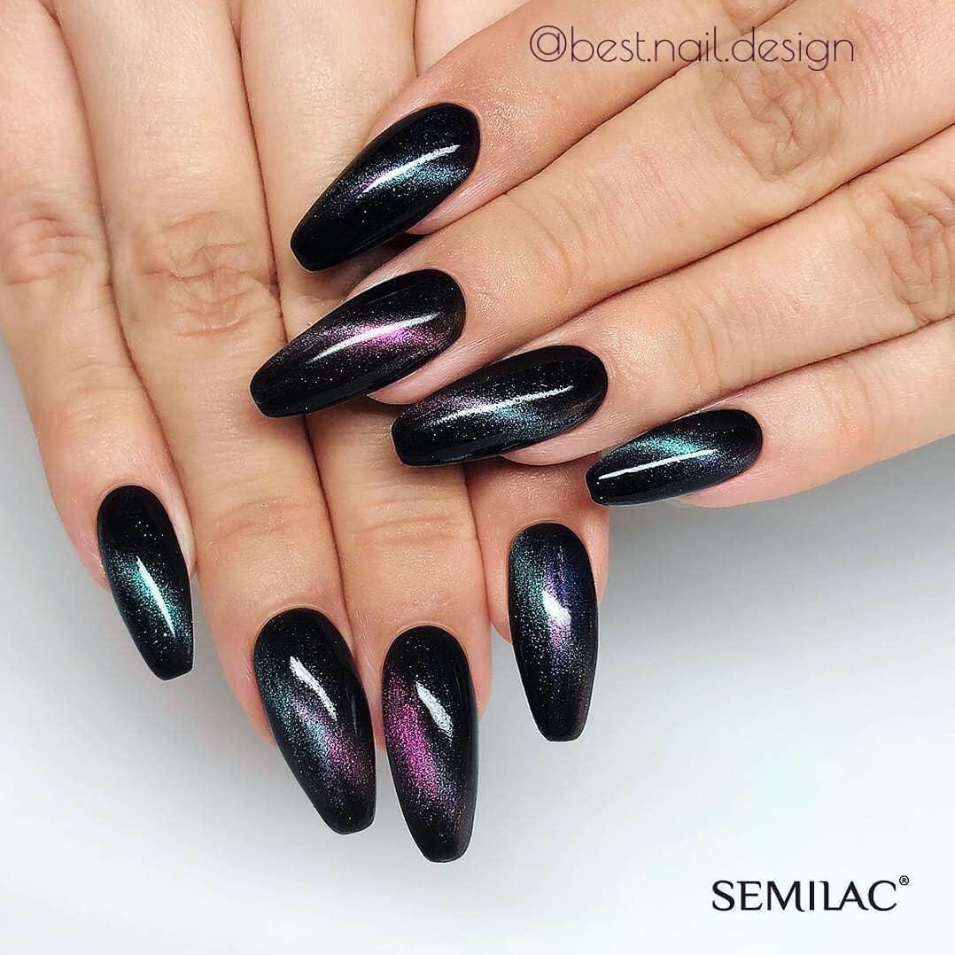 elegant black nail designs 2019 - Elegant Black Nail Designs 2019