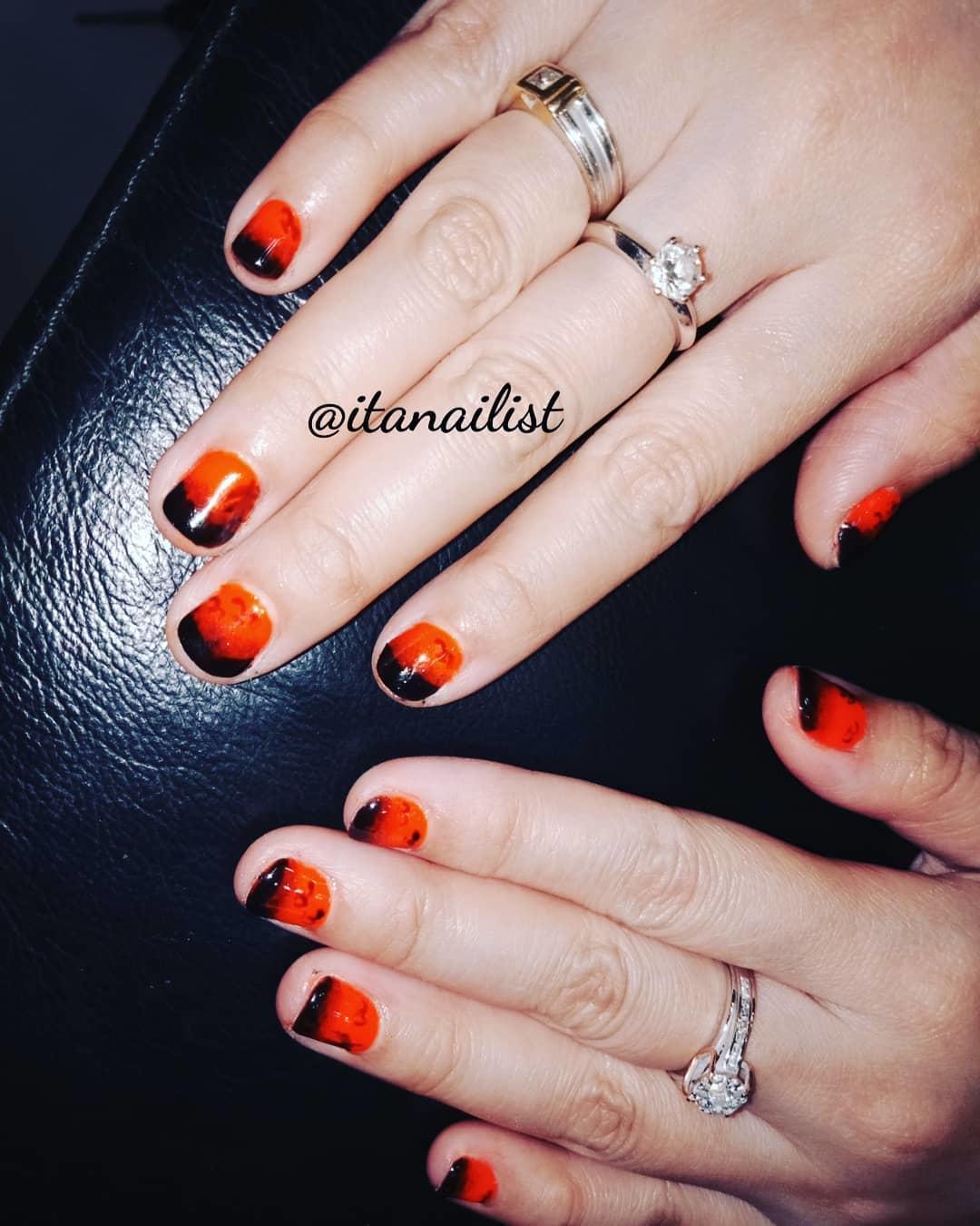 fake nail designs 12 - DIY Easy Fake Nails That Last Three Weeks & Fake Nail Designs