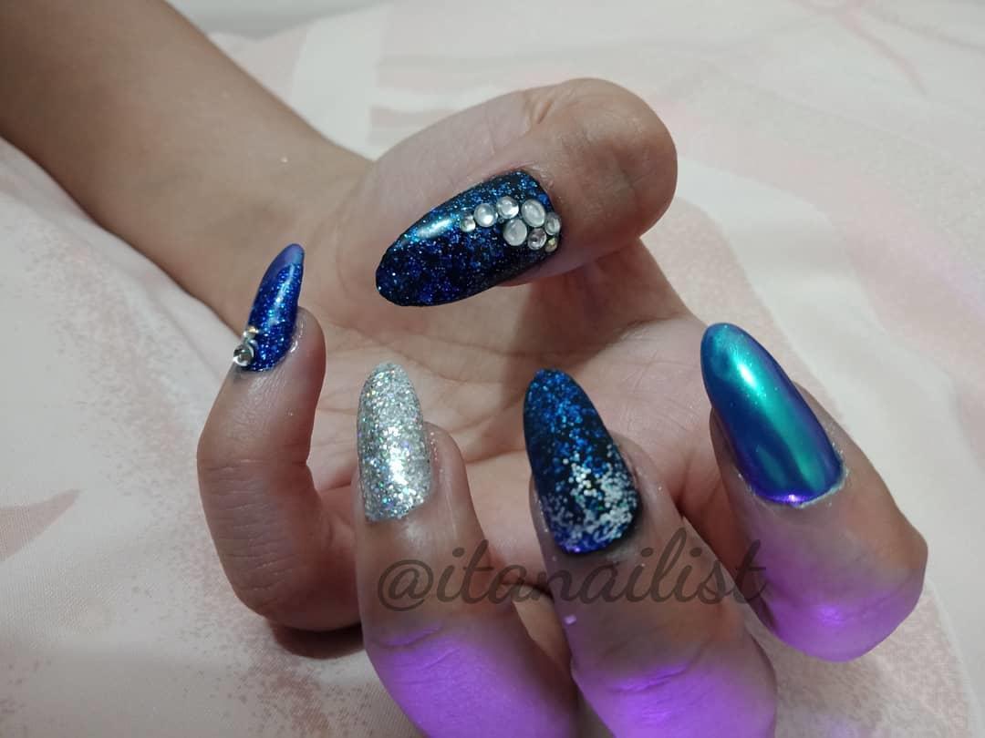 fake nail designs 14 - DIY Easy Fake Nails That Last Three Weeks & Fake Nail Designs